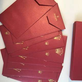 Rolex VIP Red Packets set for CNY 2018