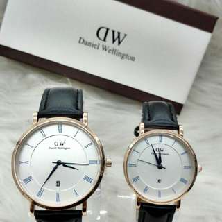 Daniel Wellington Date Leather Exclusive