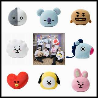BTS bt21 character pillow
