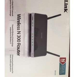 DLink - DIR 615 Wireless N 300 Router