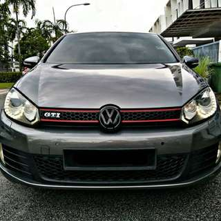 SAMBUNG BAYAR/CONTINUE LOAN  VW GOLF MK6 1.4 TURBO YEAR 2012 MONTHLY RM 1440 BALANCE 4 YEARS 4 MONTHS ROADTAX MARCH 2018 TIPTOP CONDITION  DP KLIK wasap.my/60133524312/mk6