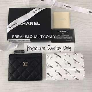 Customer's Order Chanel zipper Card pouch