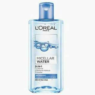 Micellar Water (color blue)