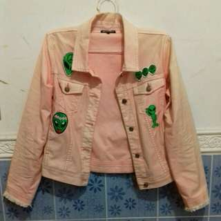 Colorbox patches jacket