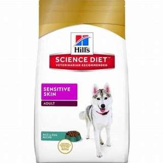 Science Diet Adult Sensitive Skin 12kg