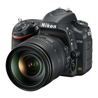 NEW - Nikon D750 Kit with 24-120mm f4 Lens