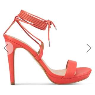 Lace up heels from zalora