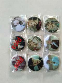 Ready Stock Button Badge