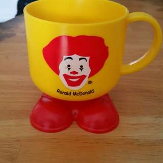 Mcdonalds theme cup (new)