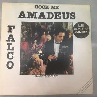"Falco ‎– Rock Me Amadeus (Salieri-Version), 12"" Single Vinyl, A&M Records ‎– 392 017-1, 1985, France"