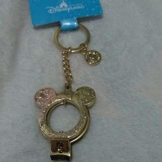 迪士尼鎖匙扣 指甲剪