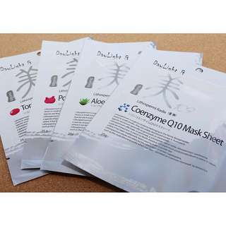 Mitomo Day Light & Mi Lithospermi Radix Mask Sheet