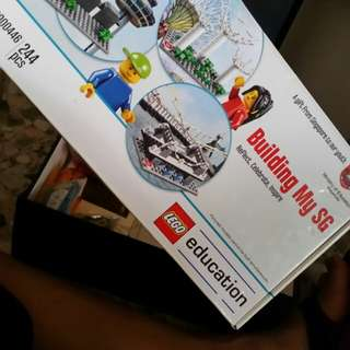 SG50 building my sg lego set
