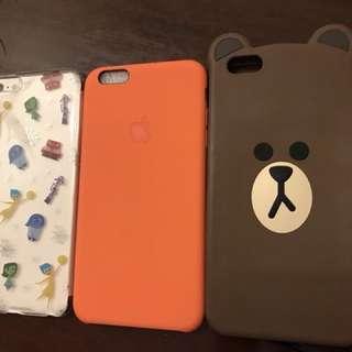 Authentic iPhone 6+ phone case set (3 pcs)