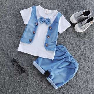 Boy's Denim set- 90cm