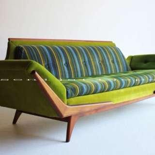 Sofa bed vintage