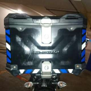 Top Case Reflective Stickers: SW Motech Trax Adventure Top Case (Free Postage!)