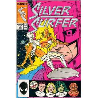 SILVER SURFER #1 (1987) 1st Issue!