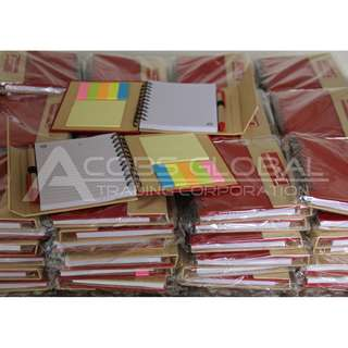 Eco Notebook Post Its Planners Organizers note books souvenir supplier