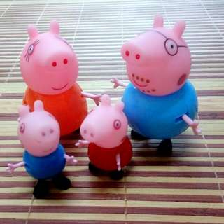 Peppa Pig 4pcs Toy Cake Topper