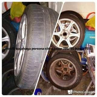 Rim Plus Tyre