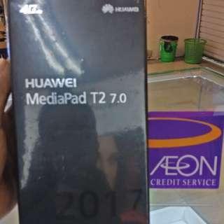 Huawei tab T2 kredit Aeon/kredit plus