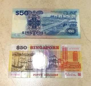 Old Singapore Note