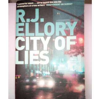 RJ ELLORY ''CITY OF LIES""