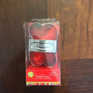 WILTON Hearts Combo Cookie Cutter