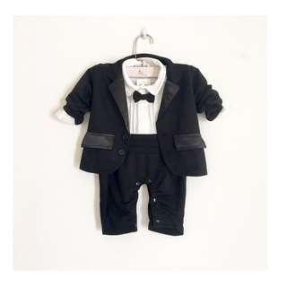 SB295 Tuxedo clothing set