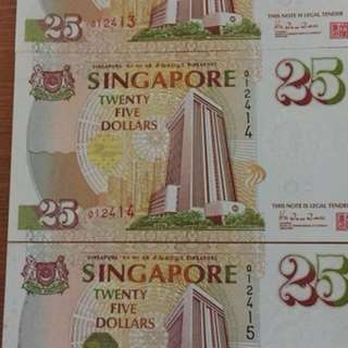 $25 MAS
