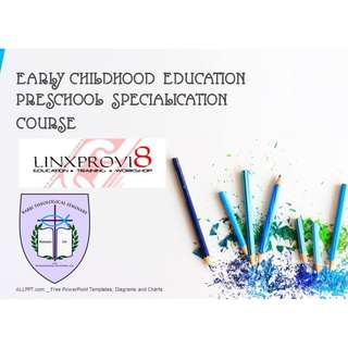 Early Childhood Education course!