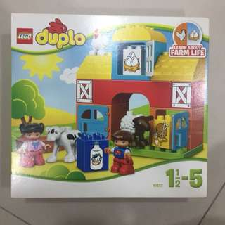 LEGO duplo learn about farm life