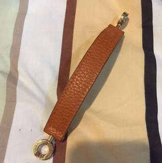leather bracelet orange kulit jeruk
