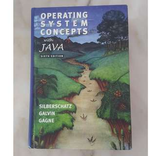 Operating Systems Concepts with Java : 6th Edition