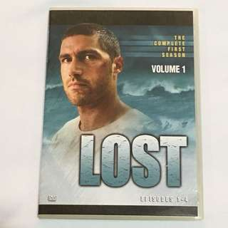 1DVD•30% OFF GREAT CNY SALE {DVD, VCD & CD} LOST VOLUME 1 : THE COMPLETE FIRST SEASON - DVD Episode 1-4