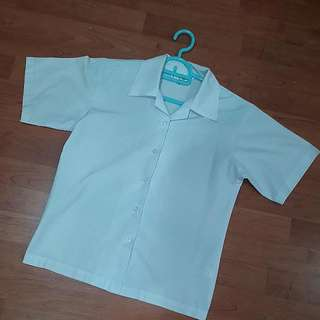 School Uniform White Top