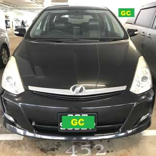 Toyota Wish RENTING CHEAPEST RENT FOR Grab/Uber USE