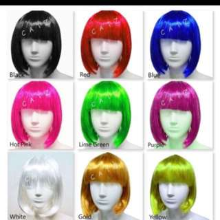 < ZHOELUX > Party Hair Wig Short Hair Bob wig