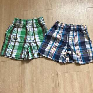 Circo Checkered Shorts