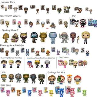 Feburary 2018 Funko Pop