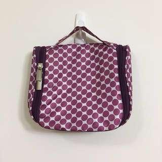 🚚 紫色點點 出國收納小包