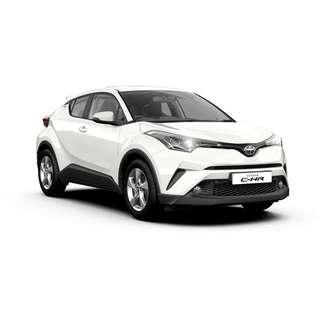 [ UBER / GRAB ] Brand New Toyota CHR Hybrid (Pearl White)