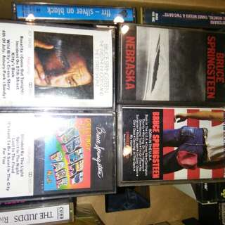 Bruce Springsteen cassette tape $4 each