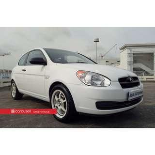 Hyundai Accent MC 1.4A 3DR (COE till 01/2023)