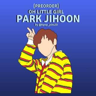 Park Jihoon Enamel Pin