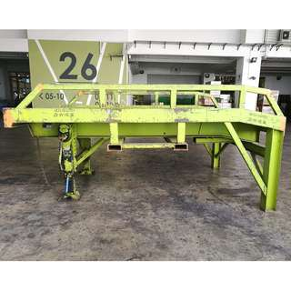 Mobile Container Loading Ramp ( Capacity 10 Ton )