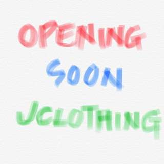 JCLOTHING OPENING SOON ON INSTAGRAM!
