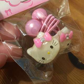 HELLO KITTY HAIR TIES *BRAND NEW* Made in Korea