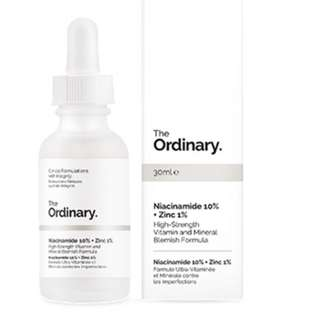 PRESELLING The Ordinary Niacinamide 10% + Zinc 1%